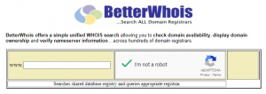 Whois Domain Tools