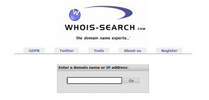 Whois Domian Lookup
